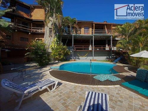 Imagem 1 de 30 de Forest Hills - Rústica, 4 Dorms (2 Sts), Piscina, Sauna, Vista! - Ca2657