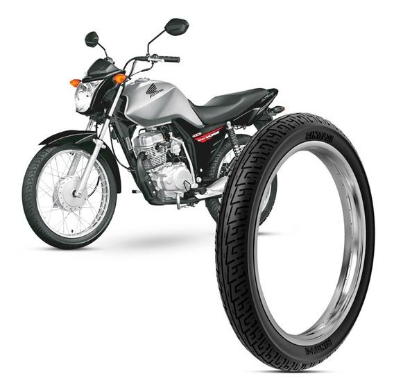 Pneu Moto Honda Cg Fan Rinaldi Aro 18 275-18 42p Dianteiro