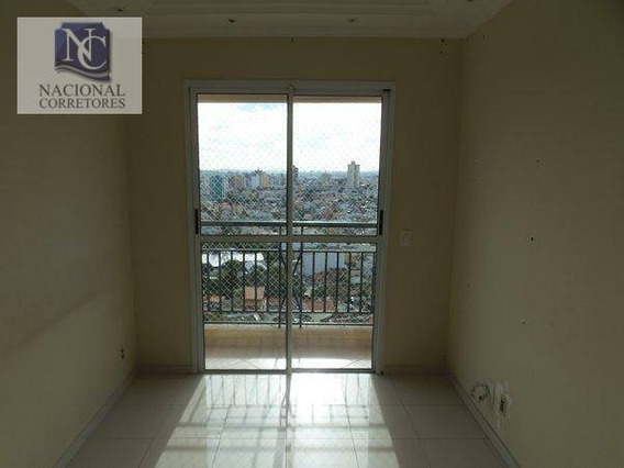 Apartamento Com 2 Dormitórios À Venda, 55 M² Por R$ 315.000 - Parque Jaçatuba - Santo André/sp - Ap6378
