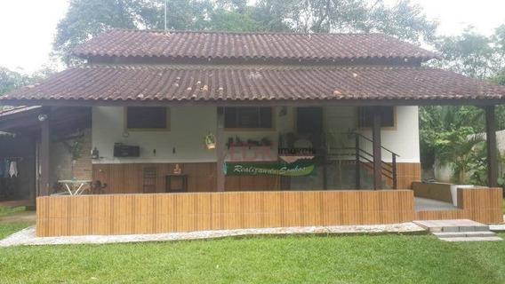 Chácara Com 3 Dormitórios À Venda, 923 M² Por R$ 200.000 - Mato Dentro - Ubatuba/sp - Ch0028