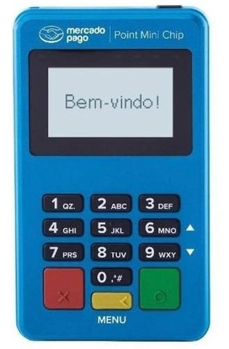 Imagem 1 de 9 de Máquina Cartão Point Mini Chip  Leitor Cartão Cartão Crédit