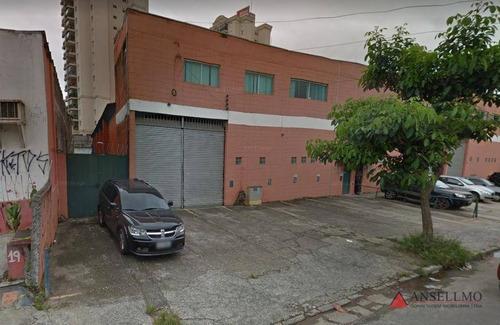 Imagem 1 de 6 de Galpão Para Alugar, 680 M² Por R$ 12.500,00/mês - Rudge Ramos - São Bernardo Do Campo/sp - Ga0348