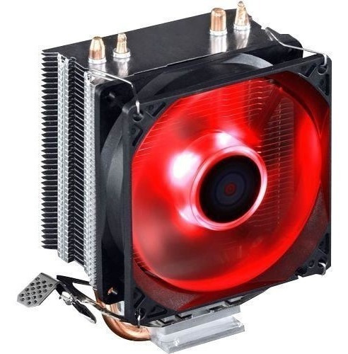 Cooler Gamer P/ Cpu Intel 115x 775 Amd Am3+ Am4 Led Vermelho