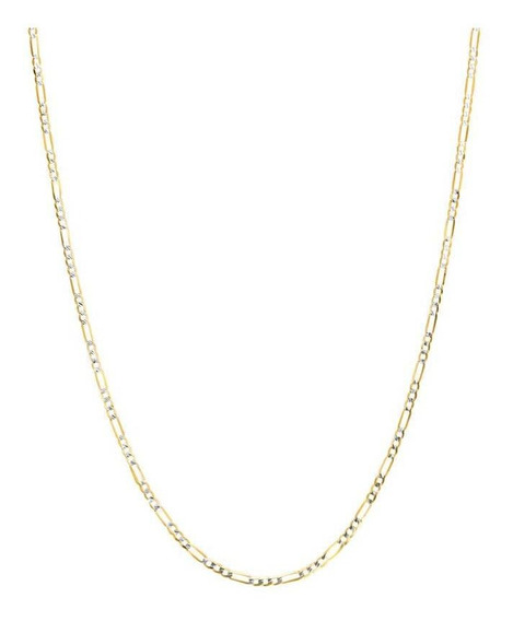 Cadena Bizzarro De Oro Amarillo Con Diamantad-040gaxpde1340p