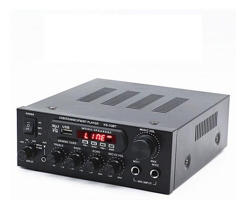 Amplificador Musica Sonido Ambiental Perifoneo Bluetooth Mp3