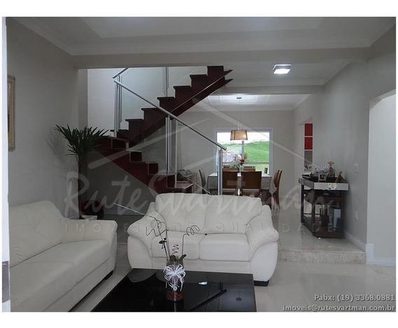 Sobrado Residencial À Venda, Condomínio Villaggio Fiorentino, Valinhos. - Ca2851