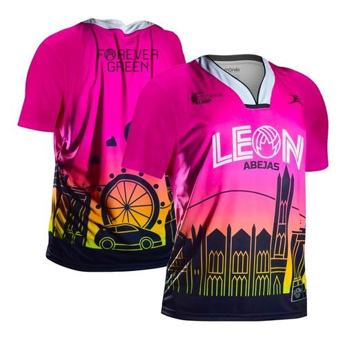 Imagen 1 de 8 de Jersey Abejas De León City Edition Sleeve 2021