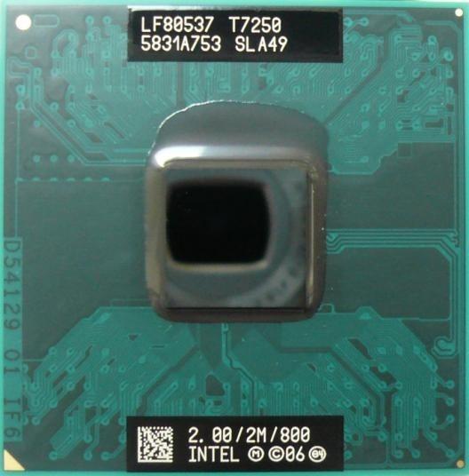 Processador Core 2 Duo T7250 2,00 Ghz Ppga478 Ppga479 Novo