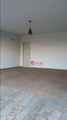 Casa Residencial À Venda, Jardim Dos Seixas, São José Do Rio Preto. - Ca0491