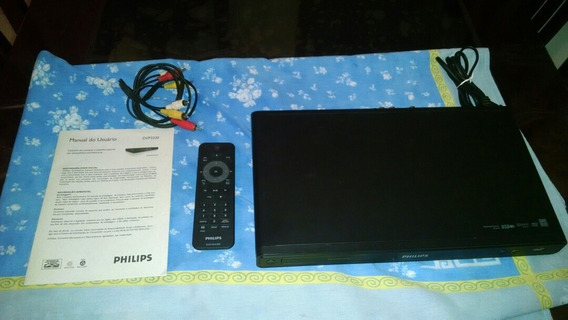 Dvd Player Philips Dvp3320 Com Manual Controle E Cabo Rca