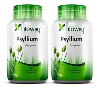 Psyllium 500mg - 2x 60 Cápsulas - Fitoway