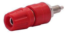 Borne Grande Pino Banana 4mm Vermelho 25a Comprimento 54,5mm