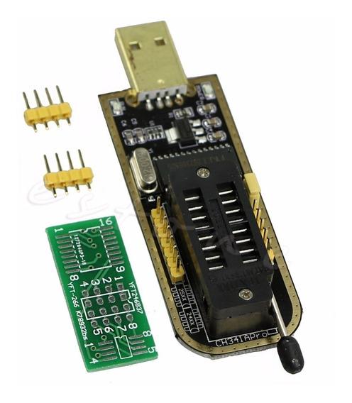 Programador Ch341a Ch341 Usb 24/25 Serie Eeprom Flash Envio