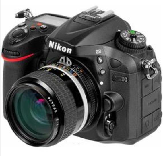 Nikon D7200 Com Lente 24mm