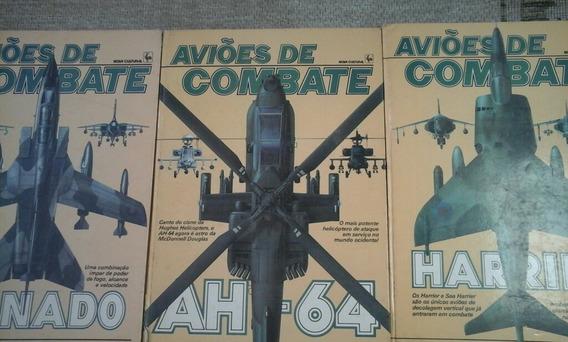 Livro Aviões De Combate