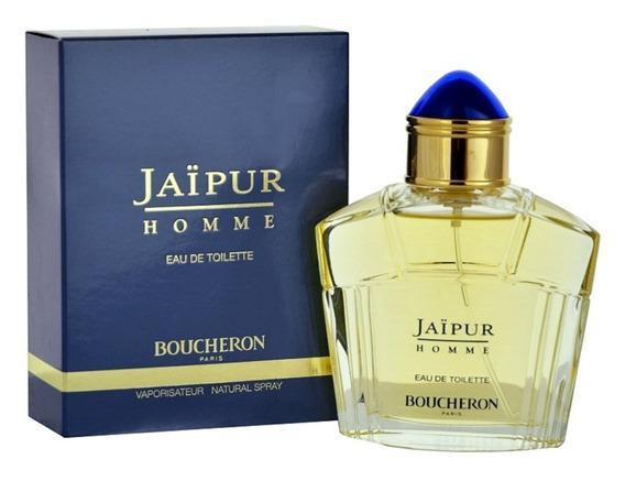 Perfume Jaipur Homme Boucheron For Men 100ml Edt - Original
