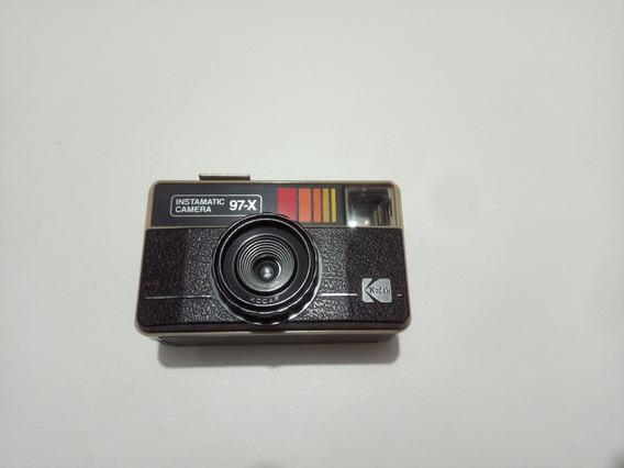 Câmera Analógica Kodak Instamatic 97-x Lomo Filme 126mm