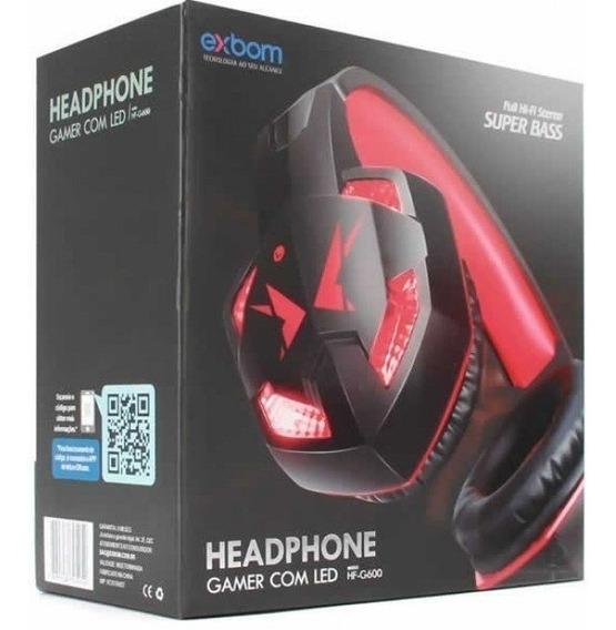 Headset Exbom Gamer