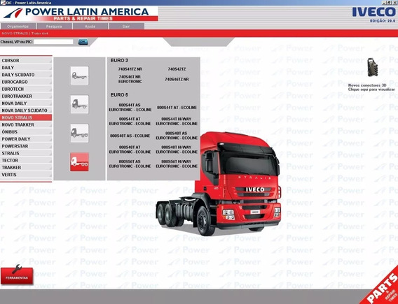 Catalogo De Peças Ivecopowerlatin America 2016 Full 3d