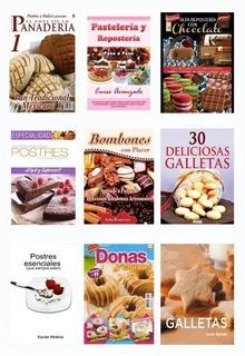 Libros Panadería Pastelería Repostería Galletas