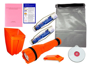 Kit Elementos De Seguridad Nautico Simple - Lancha Velero