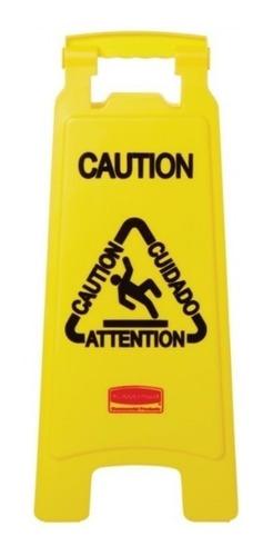 Imagen 1 de 2 de Señal De Aviso Y Prevención Rubbermaid Para Piso Mojado