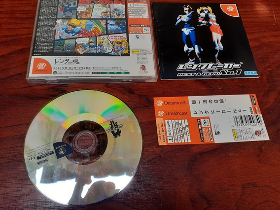 Rent A Heroe Dreamcast+frete Frete Gratis 12x Sem Juros