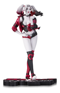 Dc Collectibles Harley Quinn Red White Black Stanley Lau Kw
