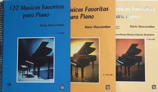 120 Músicas Favoritas Para Piano - Vol. 1,2,3