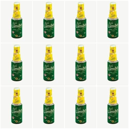 Apis Flora Apilimão Spray Bucal Limão 30ml (kit C/12)