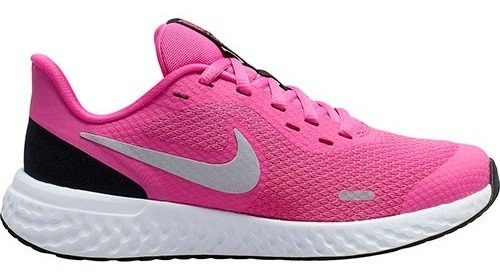 Tenis Nike Revolution 5 (gs) Fucsia Tallas #23 A #25 Mujer