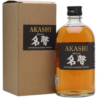 Whisky Japones Akashi Meisei White Oak Blended Con Estuche