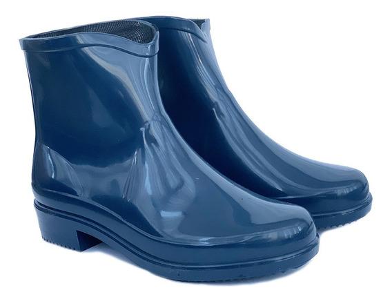 Botas De Lluvia De Mujer-caña Corta - Art 6700