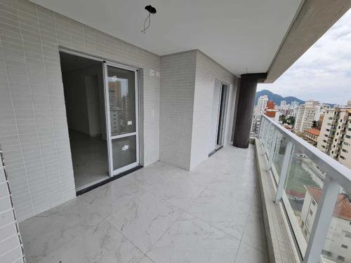 Imagem 1 de 14 de Apartamento 2 Dormitórios 2 Suítes- 350 Mts Mar - Amj117