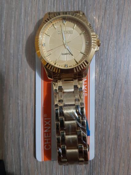 Chenxi Top Marca De Luxo Famoso Relógio De Pulso De Quartzo