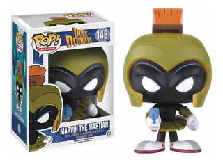 Funko Pop Marvin The Martian #143 Raro Duck Dodgers