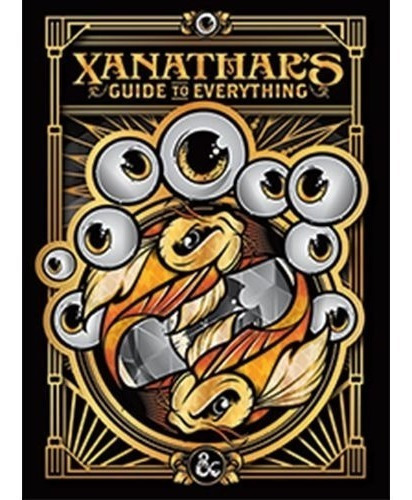 Livro - D&d Next - Xanathars Guide To Everything Limited Ed.