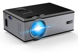 Proyector Portátil Floureon 1080p Soporte Usb Vga Av Sd Hdmi