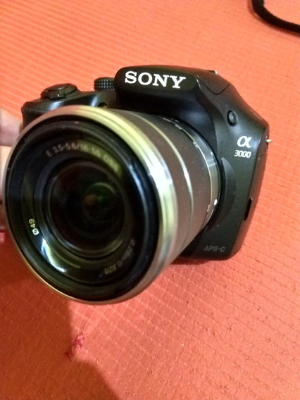 Sony A3000 Seminova Com Lente Original