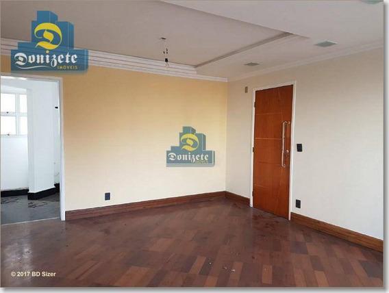Apartamento Residencial Para Locação, Campestre, Santo André. - Ap7106
