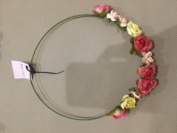 Coronas De Flores Artificiales Para Niñas Y Adultas