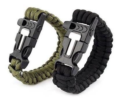 Pulsera Supervivencia Paracord 4 En 1