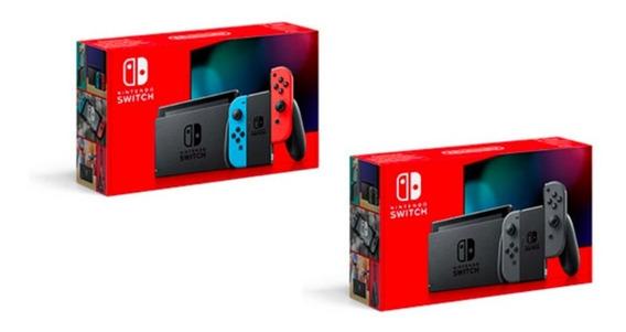 Nintendo Switch - Novo Modelo - Bateria Extendida