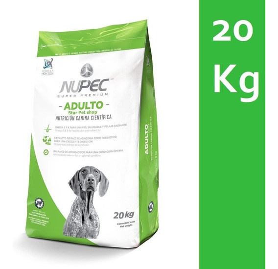 Nupec 20kg Alimento Perro Croqueta Adultos Envío Gratis