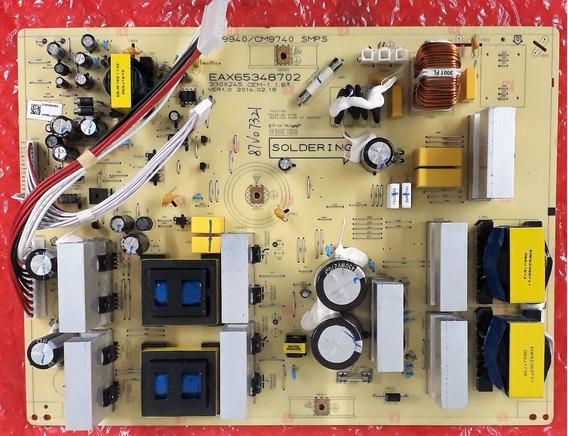 Placa Fonte Eax65348702 System Lg Modelo Cm9740 Cm9940