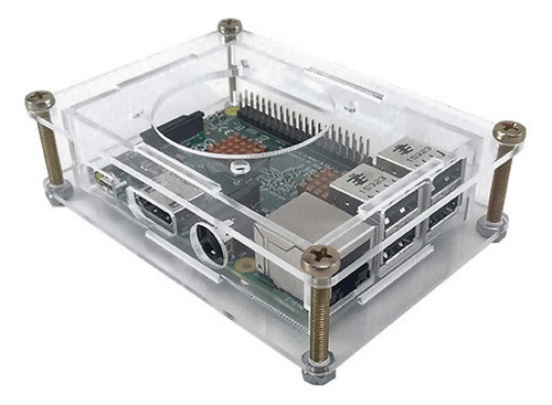 Case Raspberry Pi Modelo B+, 2 E 3