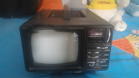Tv 5 Polegadas Mec Jy 9102a Funciona So O Radio Com Fonte