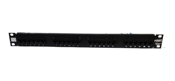 Patch Panel Amp 24 Ports Cat 6
