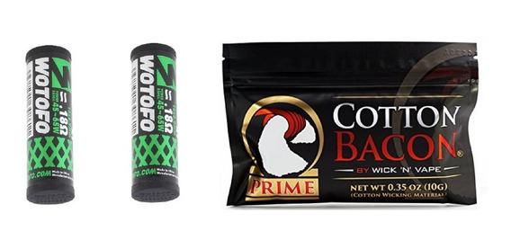 Wotofo Profile Rda Unity Rta Mesh Coil C/ 20 + Cotton Prime
