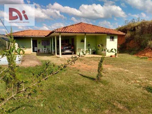 Imagem 1 de 10 de Chácara Com 4 Dormitórios À Venda, 5225 M² Por R$ 330.000,00 - Vila Iapi - Taubaté/sp - Ch0003